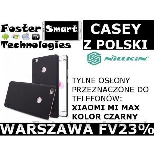 Nillkin CASE Xiaomi MI MAX PLECKI CZARNY, kolor czarny
