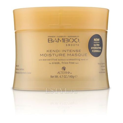 Alterna Bamboo Smooth Kendi Intense Moisture Wygładzająca maska do włosów 150 ml