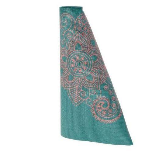 Lotus design Mata do jogi mandala niebieska