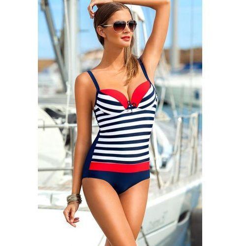 Kostium jednoczęściowy model dakota ii navy/red marki Ewlon