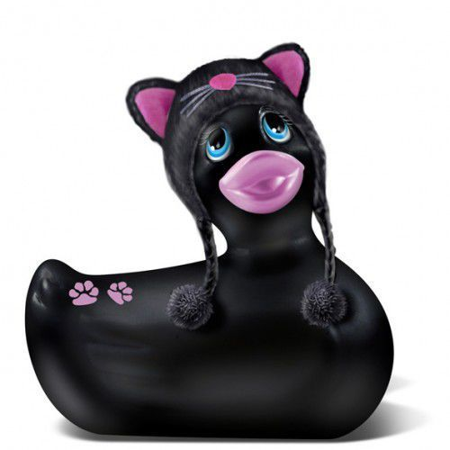 Stymulator łechtaczki - i rub my duckie travel size hoodie kitty od producenta Big teaze toys