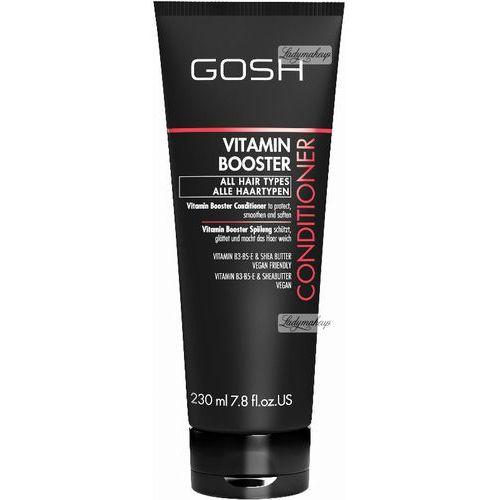Gosh  - vitamin booster - conditioner - witaminowa odżywka do włosów zniszczonych (5711914104801)