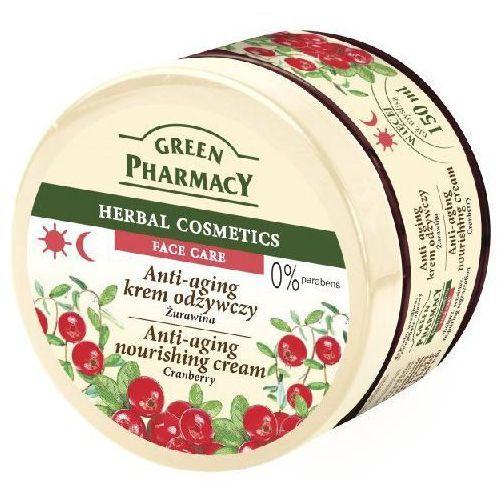 Green Pharmacy Face Care Cranberry krem odżywczy przeciw starzeniu się skóry (0% Parabens) 150 ml