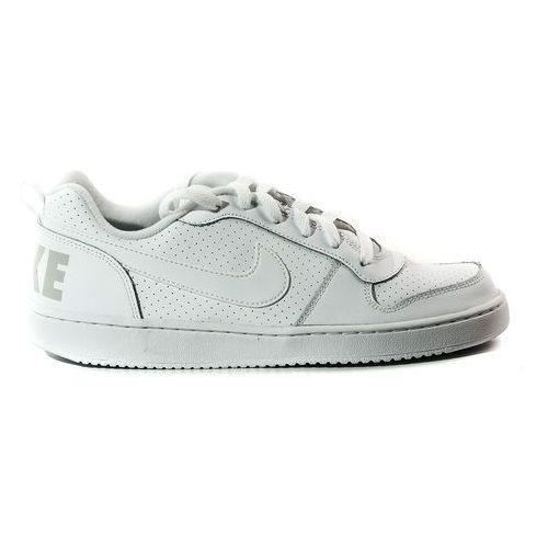 Buty Nike Court Borough Low GS - 839985-100 - Biały