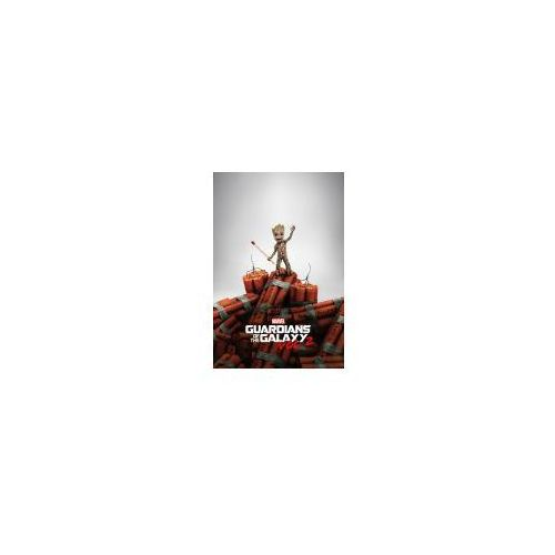 Strażnicy galaktyki 2 groot dynamite - plakat z filmu marki Gf