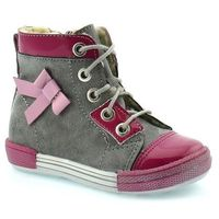 Buty zimowe dla dzieci Kornecki 04794 - Różowy   Szary, kolor różowy