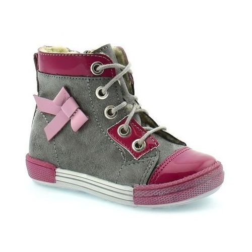 Buty zimowe dla dzieci Kornecki 04794 - Różowy ||Szary