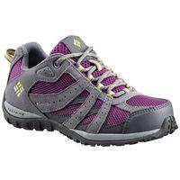 COLUMBIA buty outdoorowe dziewczęce YOUTH REDMOND WATERPROOF-Plum, Fresh Kiw 37