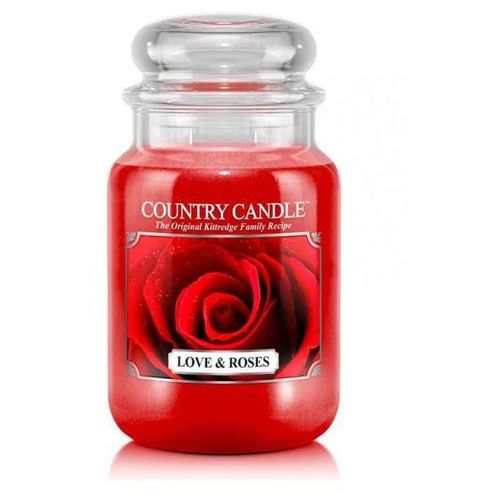 Kringle candle Country candle świeca love & roses 652g