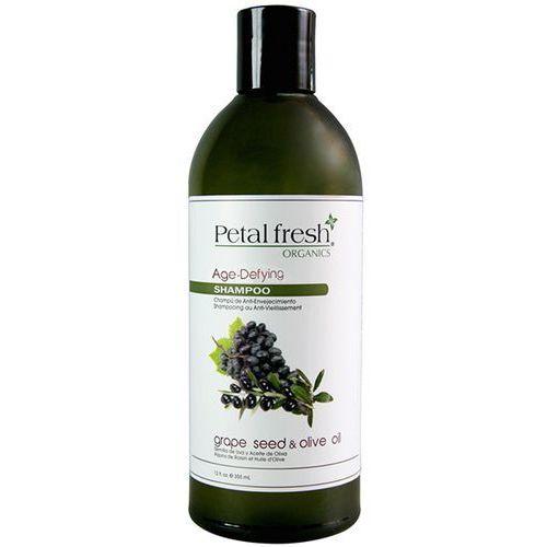 355ml winogrona i oliwka odmładzający szampon do włosów | darmowa dostawa od 150 zł! marki Petal fresh