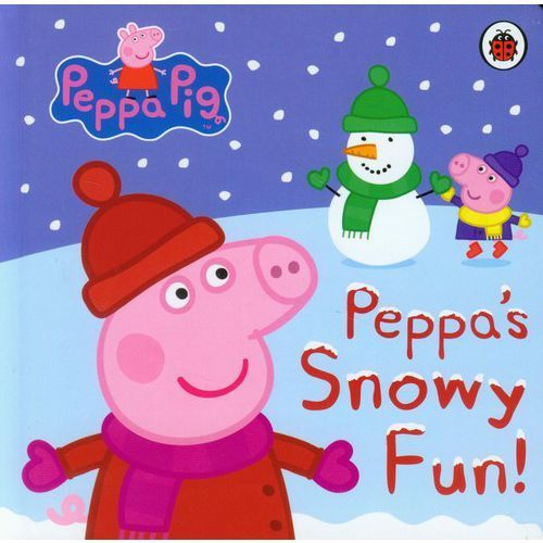 Peppa Pig: Peppa's Snowy Fun (9781409304616)