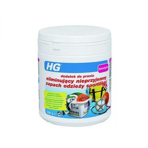 HG dodatek 0,5kg do prania odzieży sportowej eliminujący nieprzyjemny zapach - 500g (8711577130466)