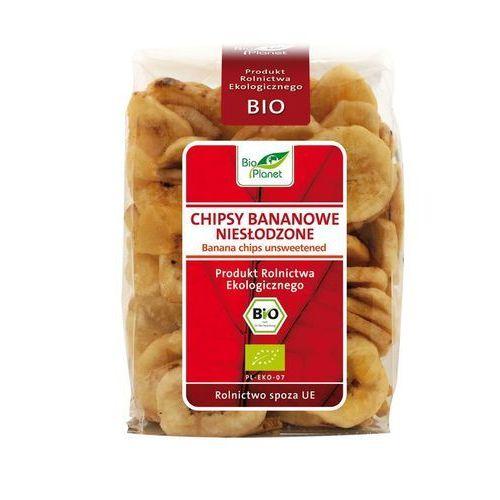 Bio Planet: chipsy bananowe niesłodzone BIO - 150 g, 5907814660107