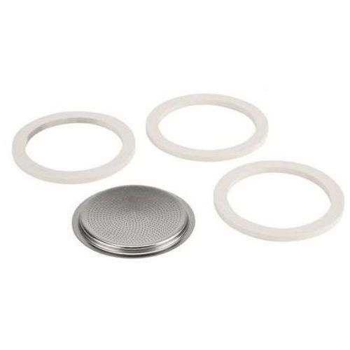 Uszczelki + sitko 3/4 tz aluminium (3 sztuki) + zamów z dostawą w poniedziałek! marki Bialetti