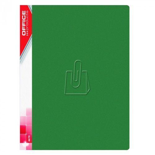 Office products Teczka z koszulkami 30k. - zielona (5901503655825)
