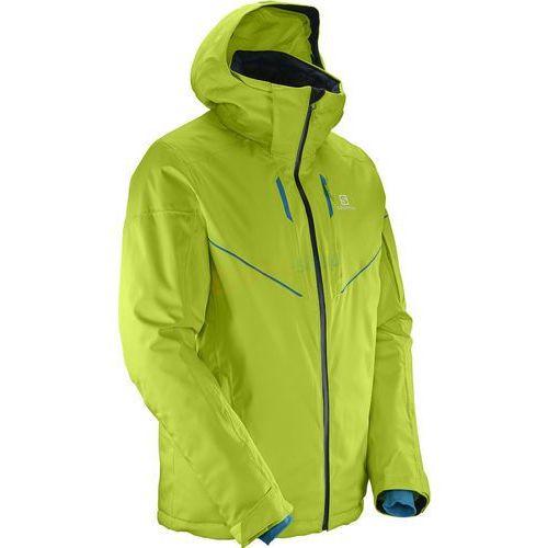 Salomon Kurtka męska stormrace jacket m (limonkowy)