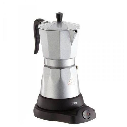 Cilio Classico srebrna kawiarka elektryczna