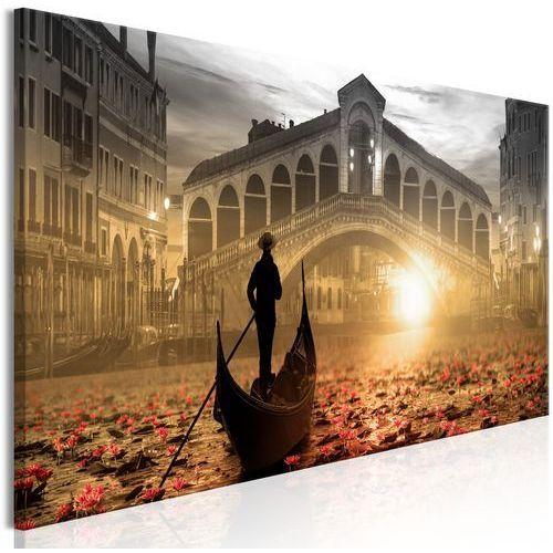 Obraz - Magiczna Wenecja (1-częściowy) wąski pomarańczowy