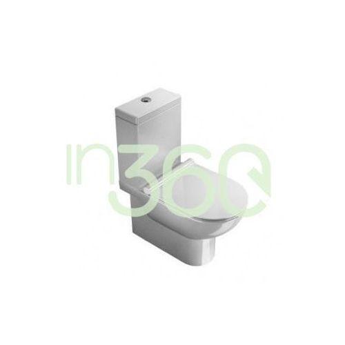 Catalano  zero zbiornik spłuczka ceramiczna z pokrywą biała 1cmsz00