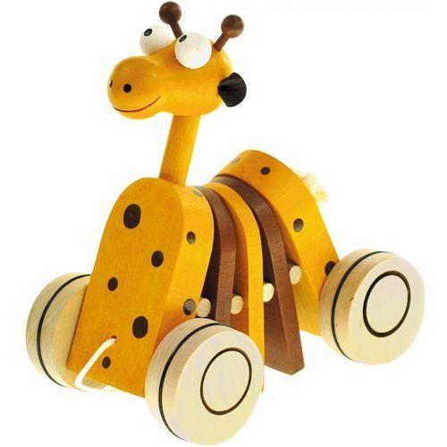BINO Drewniana żyrafa na sznurku (4019359909878)