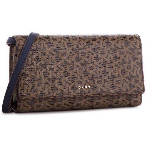 Torebka DKNY - Bryant Wallet On String R835J622 Mocha Logo-Nvy 6MN