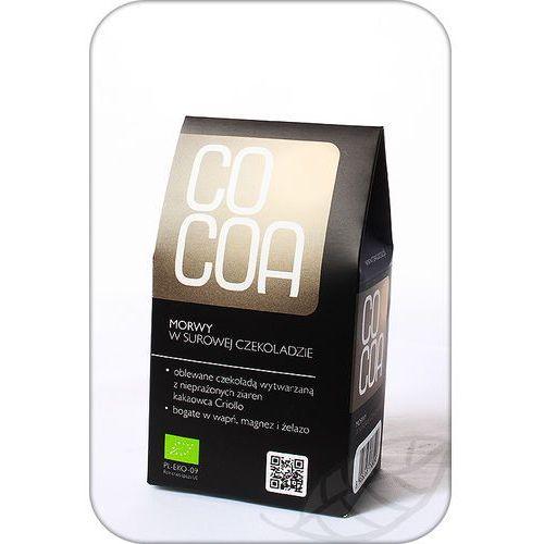Cocoa : morwy tureckie w surowej czekoladzie bio - 70 g