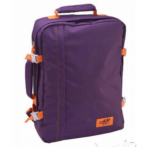 Plecak torba podręczna + pokrowiec organizer gratis - purple cloud marki Cabinzero