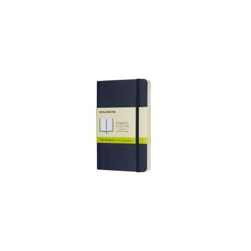 Notatnik Moleskine Classic P gładki, miękka oprawa, szafirowy (8055002854726)