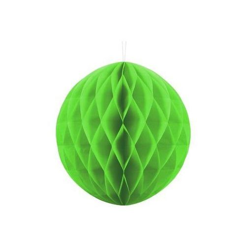 Dekoracja wisząca kula zielone jabłko - 30 cm - 1 szt. (5901157497857)