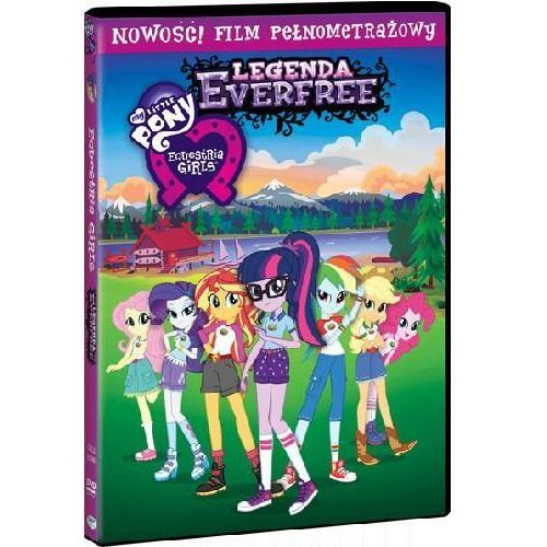 Legenda Everfree. Equestria Girls. My Little Pony (DVD) - Ishi Rudell