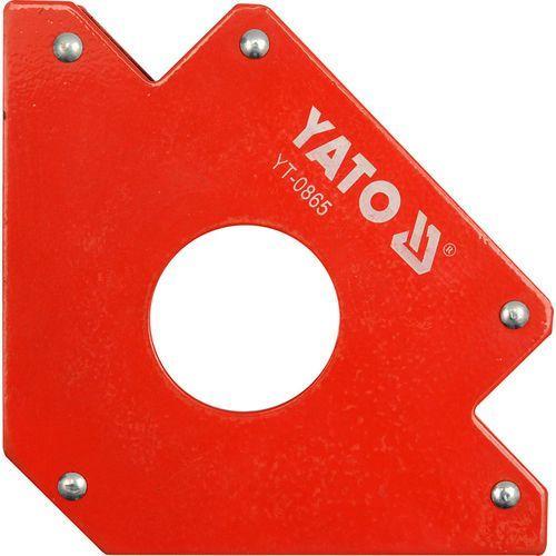 Spawalniczy kątownik magnetyczny 122x190x25 mm / YT-0865 / YATO - ZYSKAJ RABAT 30 ZŁ (5906083908651)