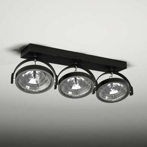 Plafon LAMPA sufitowa SAKURA 2235 Shilo reflektorowa LISTWA ruchoma OPRAWA czarny