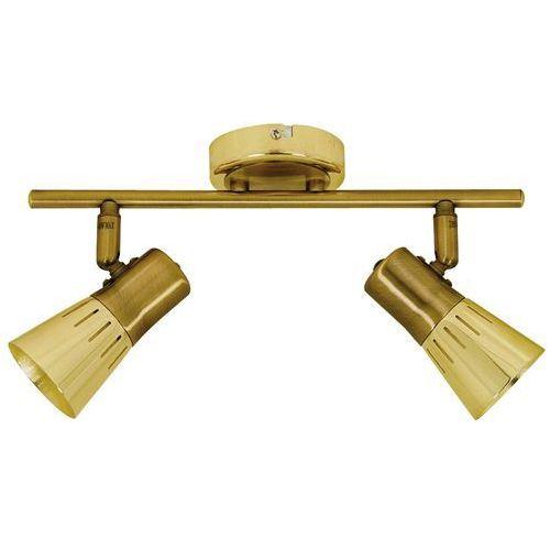 arena 92-84487 lampa punktowa 2x40w r50 e14 złoto patyna marki Candellux