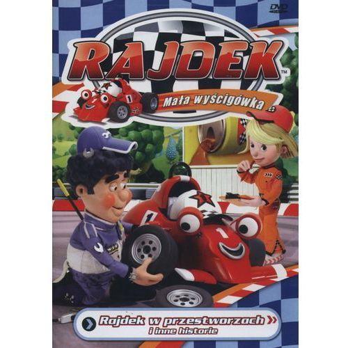 Rajdek mała wyścigówka 2 - w przestworzach dvd (5905116009020)