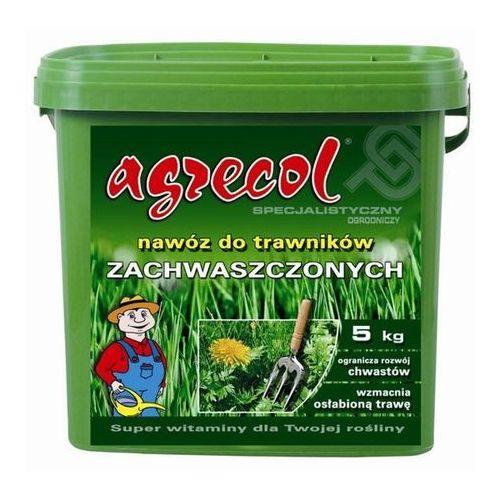 Agrecol nawóz do trawników zachwaszczonych 5kg + gratis