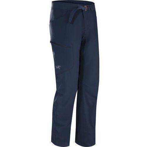 """Arc'teryx lefroy spodnie długie mężczyźni """"32 niebieski 32 2018 spodnie turystyczne"""