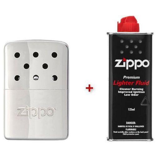 Zippo Ogrzewacz do rąk zippo 6h srebrny + benzyna