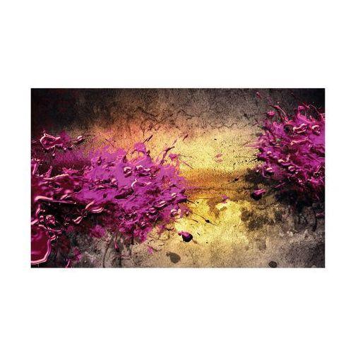 Consalnet Kanwa fioletowa abstrakcja 100 x 75 cm