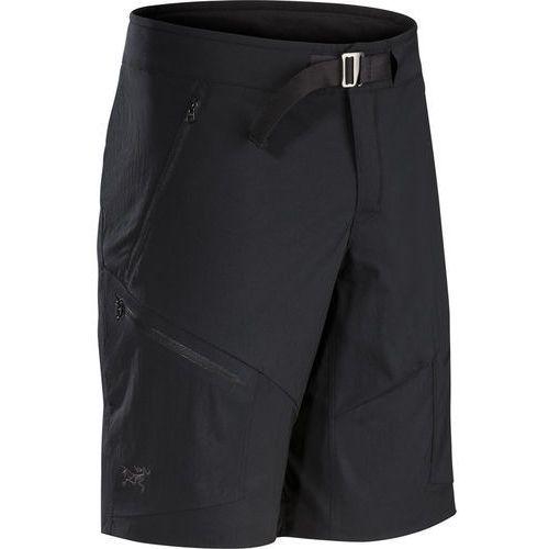 palisade spodnie krótkie mężczyźni czarny 30 2018 szorty syntetyczne marki Arc'teryx