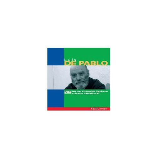 Luis De Pablo: Paraiso Y Danzas Macabras (1991 - 1992) / Secunda Lectura (1993) / Razón Dormida (2003) (0722056235327)