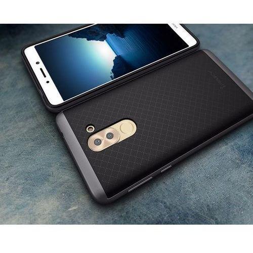 Etui iPaky Premium Hybrid Huawei Honor 6X Grey + Szkło (5903068631269)