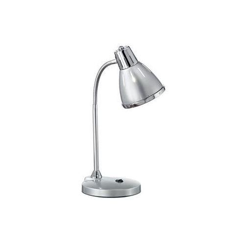 034416 - lampa stołowa elvis 1xe27/60w/230v srebrna marki Ideal lux