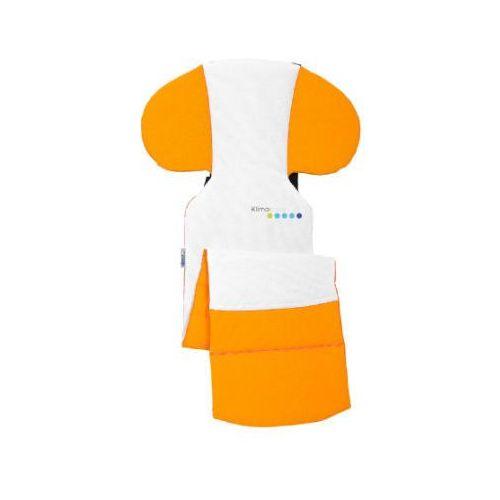 ODENWÄLDER Klimo cool Poduszka redukcyjna do fotelika samochodowego kolor pomarańczowy. (4005226104811)