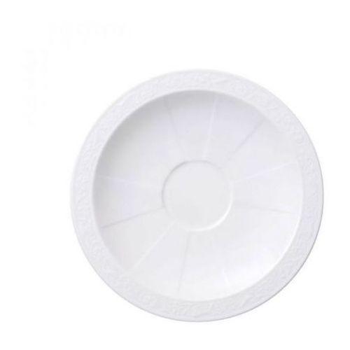 Villeroy & Boch - White Pearl Spodek do filiżanki do kawy/herbaty średnica: 16 cm