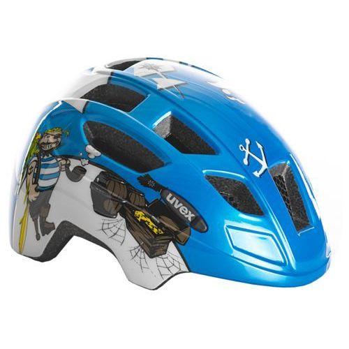Uvex kask rowerowy Finale Junior Pirate Blue (4043197286891)