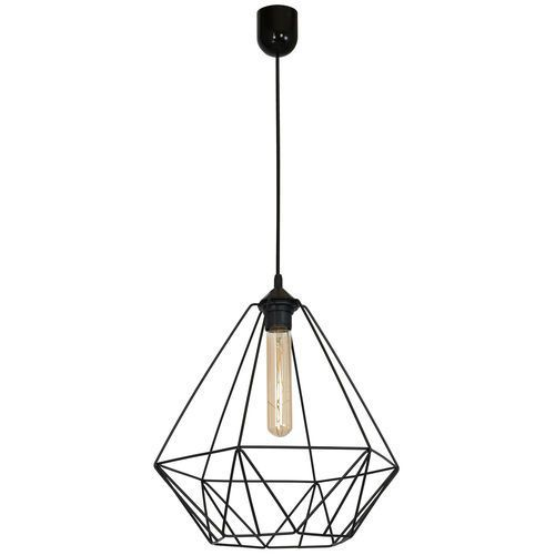 Lampa wisząca basket new 1 x 60 w e27 black marki Luminex