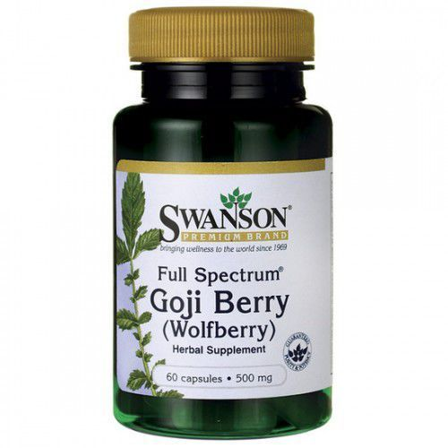 SWANSON Goji Berry Full Spectrum 60 kaps./500mg