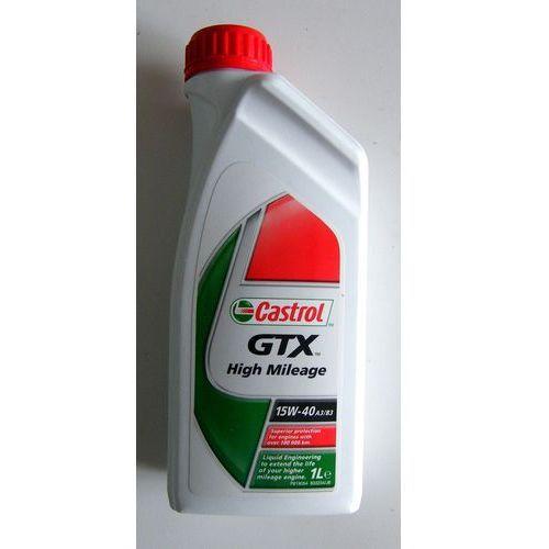 Olej Castrol GTX High Mileage 15w40 1 litr !ODBIÓR OSOBISTY KRAKÓW! lub wysyłka
