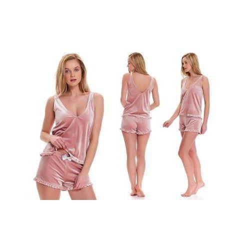 Piżama damska KSENIA: róż, kolor różowy