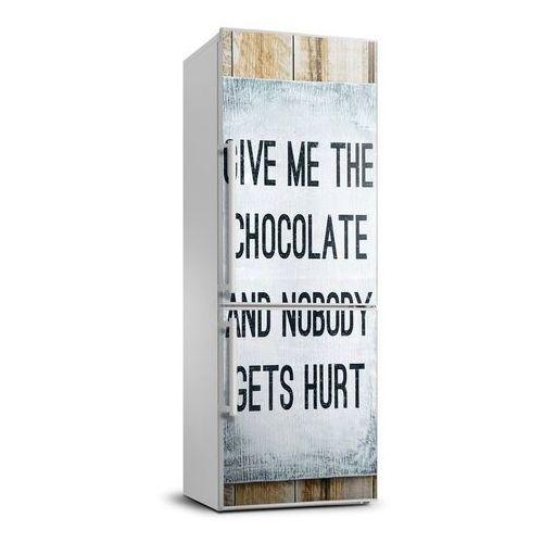 Naklejka Tapeta na lodówkę Dajcie czekoladę
